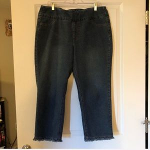 Soft Surroundings Cropped Jeans